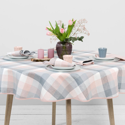 How to choose linen tablecloth for your Easter table? 2019